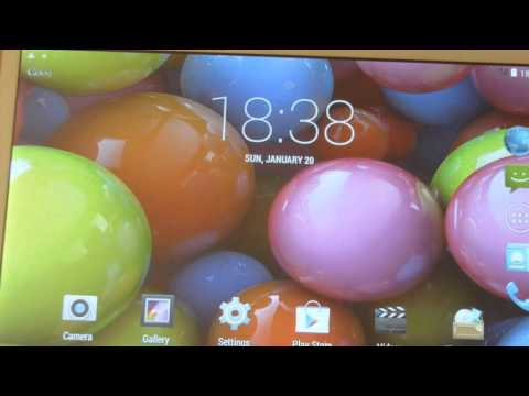 Counterfeit Samsung Galaxy Tab Scam - Alps T950s Power Up Test - Part 2
