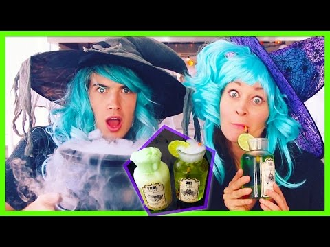 YUMMY WITCH POTIONS DIY! W/Mamrie Hart
