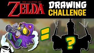 Artists Draw Zelda Bosses (That They've Never Seen)