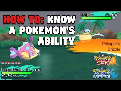 How to Know a Wild Pokemon's ABILITY in Pokemon Sun & Moon (Postgame)