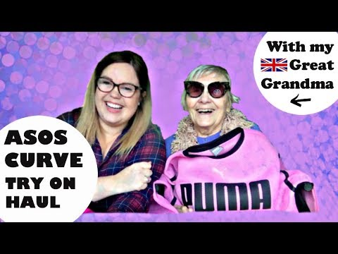 ASOS Curve Haul & Try On | PLUS SIZE| Featuring My Great Grandma