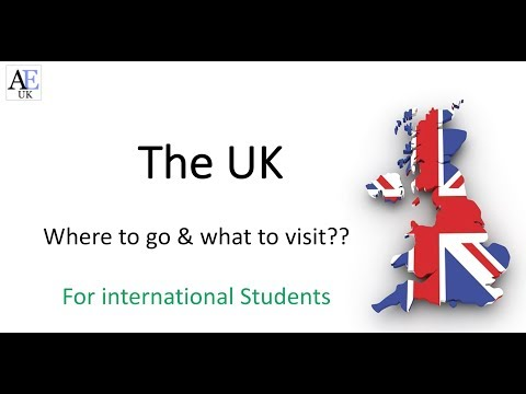 Places to visit in the UK for international students