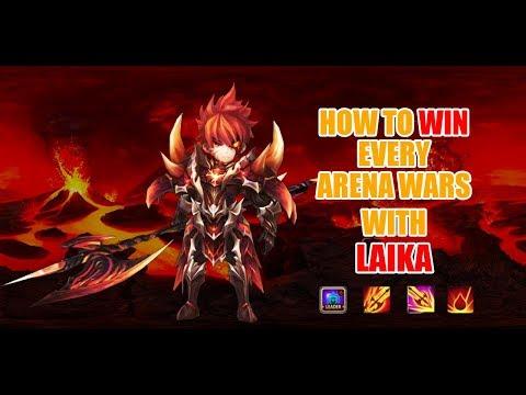 Summoners War: Laika Arena Test - Too strong???