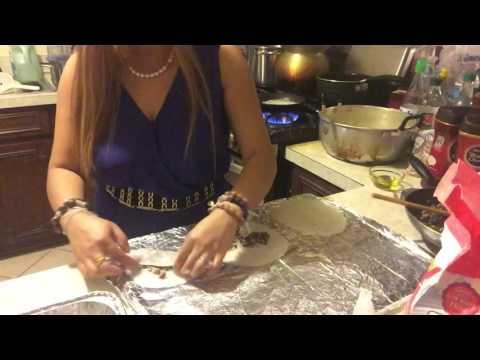 Making BANH CUON (Vietnamese Recipe)