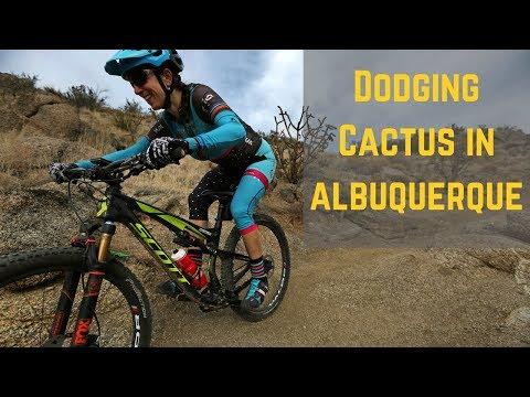 Sample of North Foothills Mountain Biking in Albuquerque