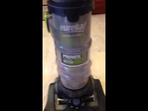 Eureka Multicyclonic Airspeed One Vacuum Problem No Suction