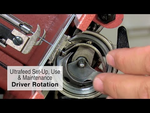 Driver Rotation on a Sailrite Ultrafeed Sewing Machine