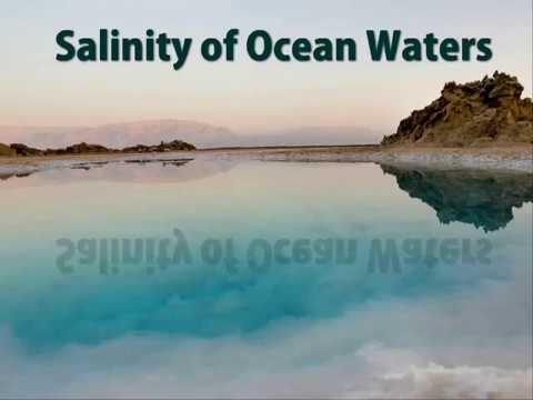 Salinity of Ocean Waters