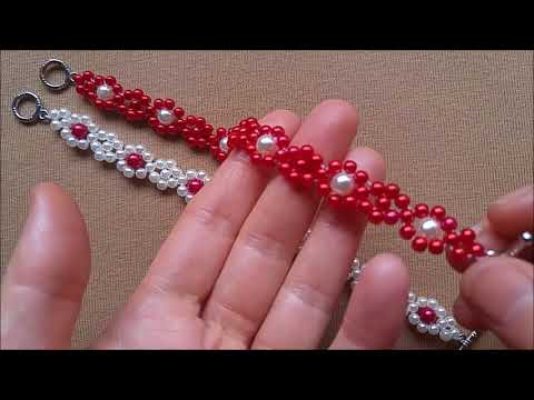 How to make a bracelet. Easy pattern 👀