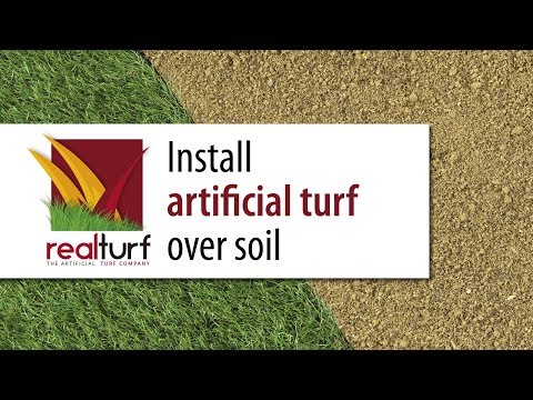 Install Artificial Turf over soil