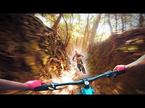 JAPAN'S AMAZING HALF-PIPE BIKE TRAILS! | Mountain Biking with Yamabushi Trail Tour!
