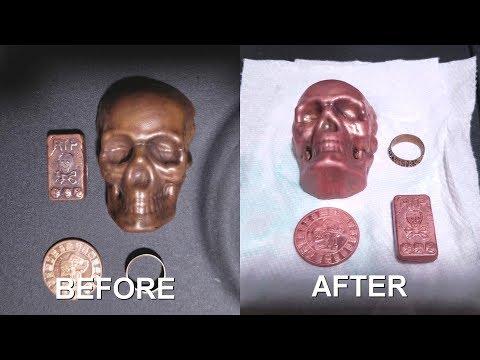 Cleaning Copper (Vinegar + Salt)