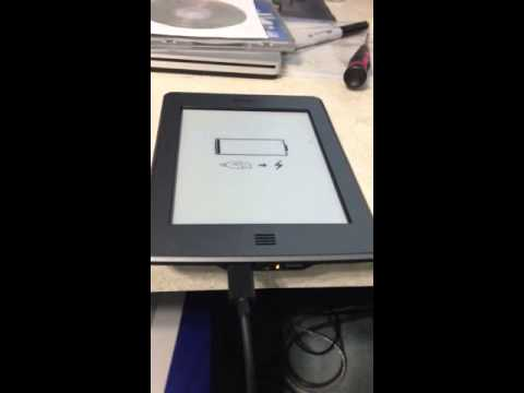 Kindle Touch Rebooting