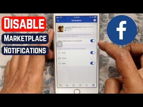 How to Disable Facebook Marketplace Notifications on iPhone or Android