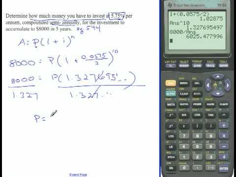 Compound Interest formula and TVM Solver