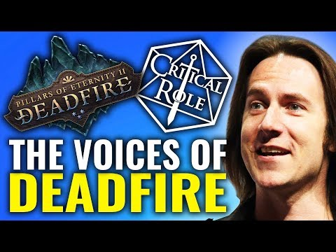 Voice's of Pillars of Eternity 2: Critical Role Crossover