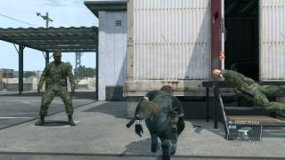 MGS5 GZ バグ  幽霊が来る