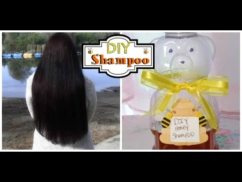 How to: DIY Honey Shampoo Homemade Natural Recipe