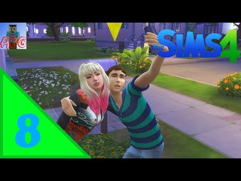 The Sims 4 Let's Play Ep. 8   Girlfriend Time!!!