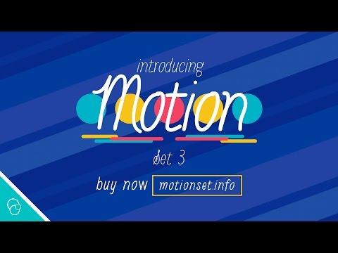 Introducing Motion Set 3 (4K) - Motion Background