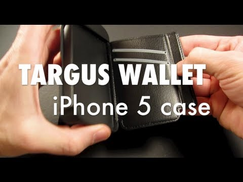 Review of Targus Wallet Case for iPhone 5