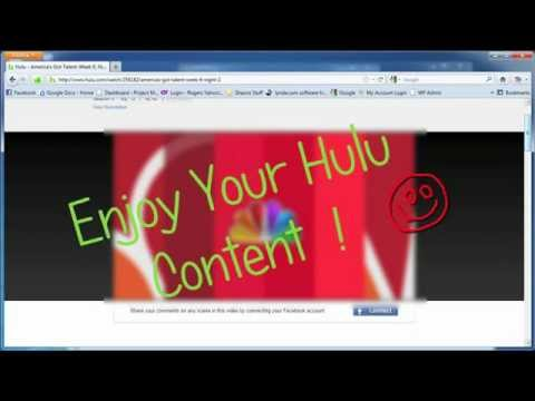 How-to: Watch hulu in the UK - in 60 seconds (FREE)