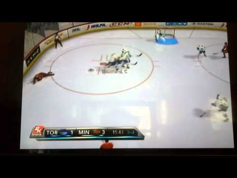 NHL 2k11 I win