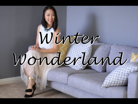Christmas Outfit Idea/Inspiration - Winter Wonderland
