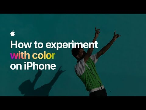 How to experiment with color on iPhone — Apple