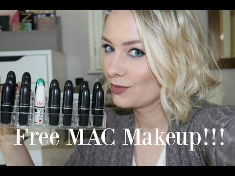 How To Get Free Makeup | Back To Mac