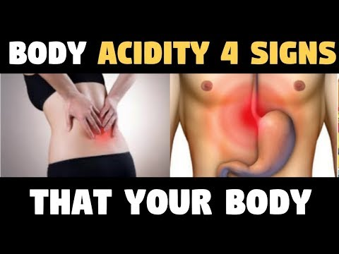 Body Acidity 4 SIGNS That Your BODY IS VERY ACID, AND HOW TO FIX IT!
