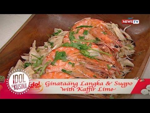 Idol sa Kusina recipe: Ginataang Langka and Sugpo with Kaffir Lime