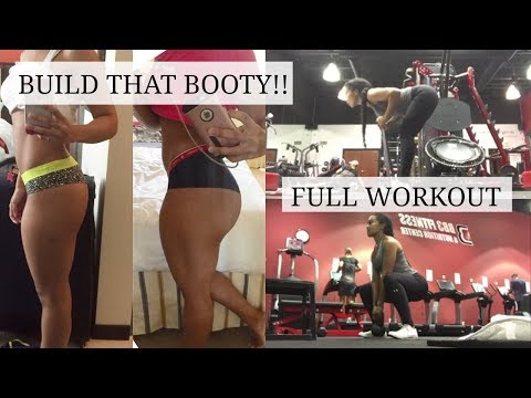 Grow and Build that Booty!   Full Booty Workout