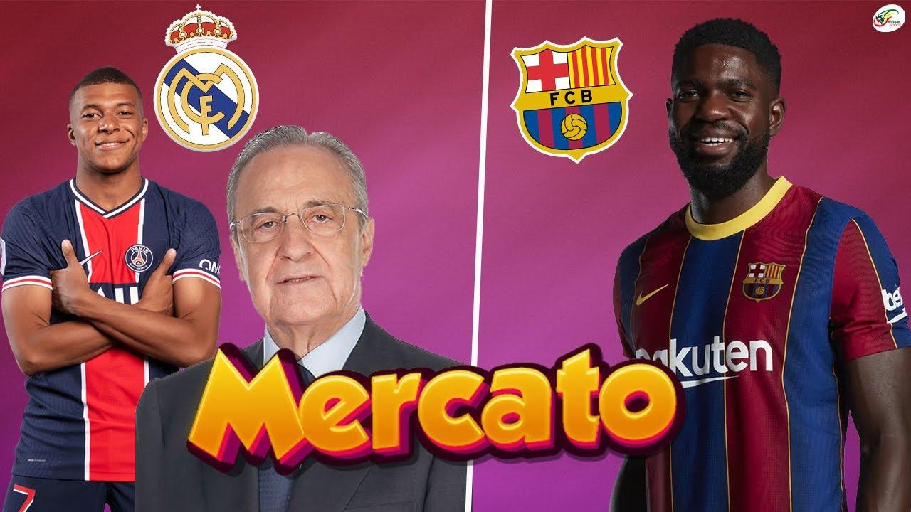 Le Real lâche un NON à Mbappé.. Samuel Umtiti inclus dans une grosse opération du Barça |Mercato