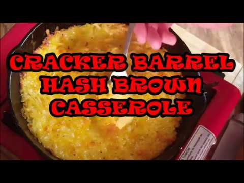CRACKER BARREL HASH BROWN POTATO CASSEROLE, RICHARD IN THE KITCHEN