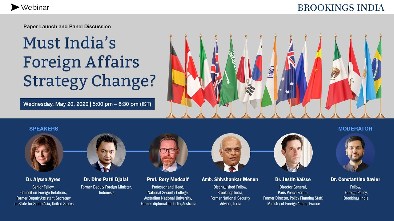 Must India's Foreign Affairs Strategy Change?