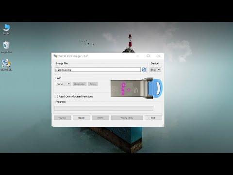 how to clone USB flash drive