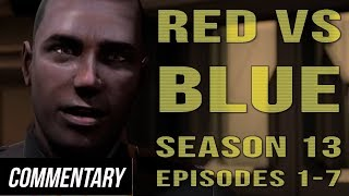 [blind Reaction] Red Vs. Blue - Season 13 Episodes 1-7