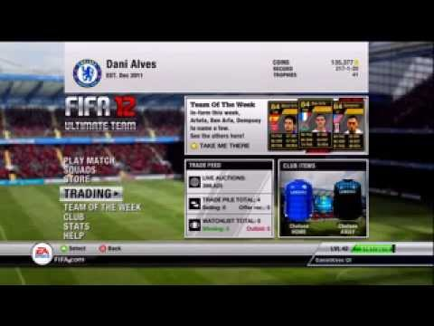 Fifa 12 Ultimate Team great hack to create awesome teams