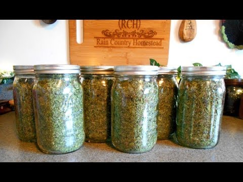 Dehydrated Mixed Greens Blend
