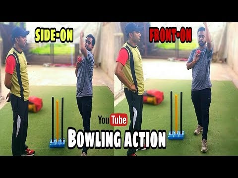 Proper Pace Bowling Action In Cricket.hindi/urdu.by Biswajit Bhattacharjee.