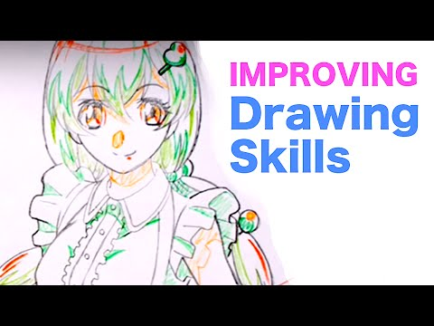 Japanese ANIME STYLE Drawing Analysis #1|How to improve drawing skills