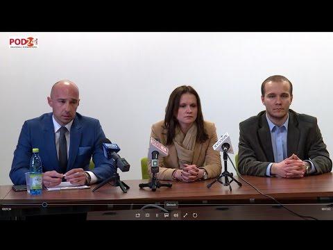 Procedura TAX FREE - konferencja prasowa w Przemyślu
