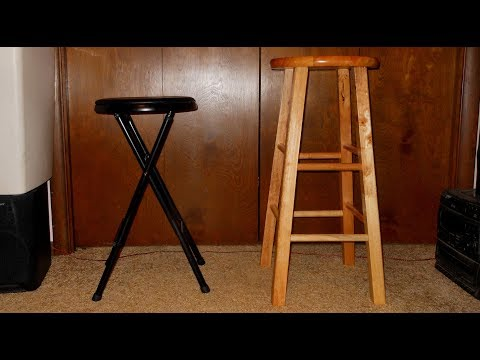 Bryan Gets 2 Stools From Walmart
