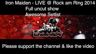 Iron Maiden   Live at Rock am Ring 2014   Full uncut show #rar #rockamring #ironmaiden