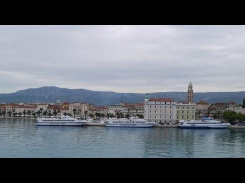 Split To Stari Grad, Hvar Ferry Leaving Split