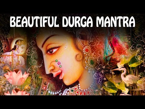 Beautiful DURGA mantra to REMOVE OBSTACLES & Enemies! ॐ Powerful Devi Mantra Meditation PM 2018