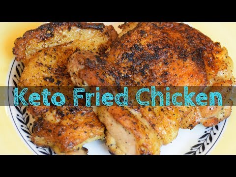 EASY Keto Fried Chicken (1 Net Carb)
