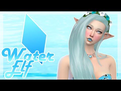 Water Elf | Create A Sim | Collab