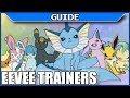 ALL EEVEE TRAINER LOCATIONS Pokemon Sun & Moon How to get Eevium Z Crystal Sidequest - DarkLightBros